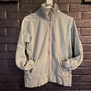 Carhartt zip up jack/sweatshirt size medium
